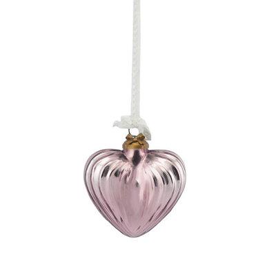 Lisbeth Dahl Copenhagen - Kerstbal antiek roze hart