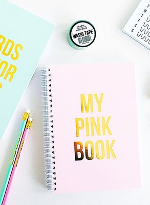 Studio Stationery -  Notebook My pink book
