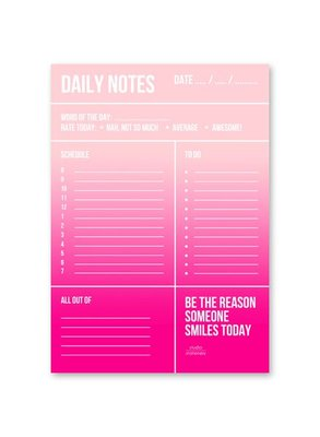 Studio Stationery - Daily notes