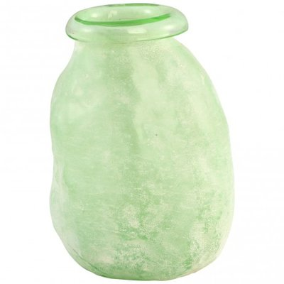 PTMD - Amora green Glass vase thick