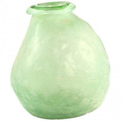 PTMD - Amora green Glass vase taps
