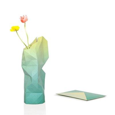 Pepe Heykoop - Paper Vase Cover Large - Green Fade
