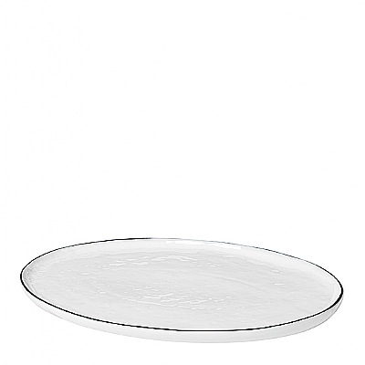Broste Copenhagen - Salt - Ovaal bord Small