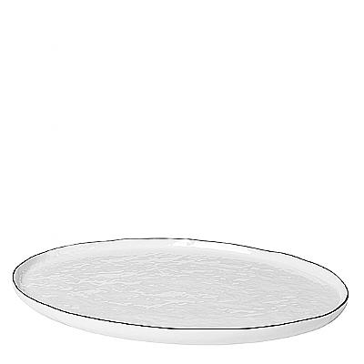 Broste Copenhagen - Salt - Ovaal bord Large