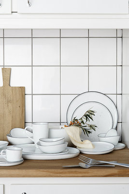 Broste Copenhagen - Salt - Dinerbord