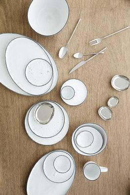 Broste Copenhagen - Salt - Kop en schotel Large