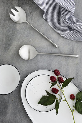 Broste Copenhagen - Salt Ovaal bord L
