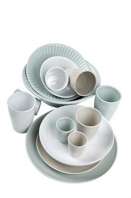 MrsBloom - Madrid old white - Breakfast plate