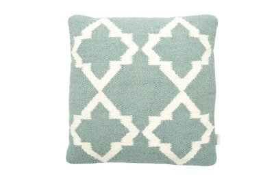 MrsBloom - Cushion Palma old green