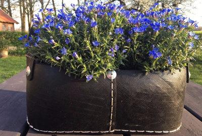 Tadé recycled tyres - Corbeilles de Balcon - Balkon manden - set van 2