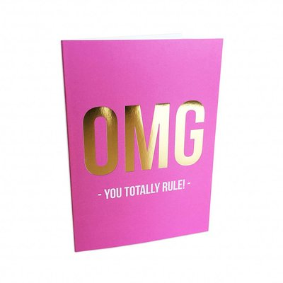 Studio Stationery - Greeting card You rule