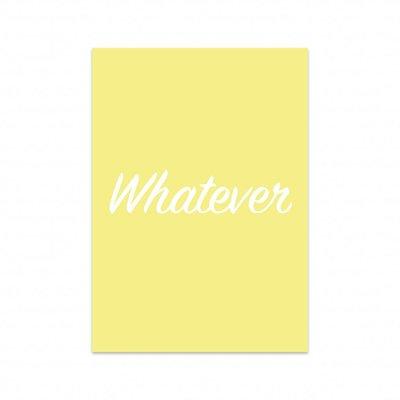 Studio Stationery - Kaart Whatever