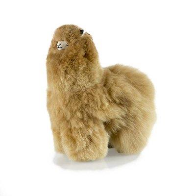 Inkari - Alpaca zachte knuffel Bruin Medium