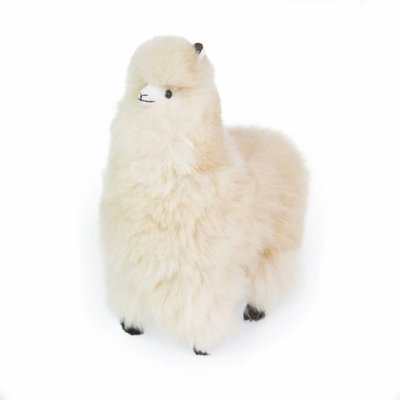 Inkari - Alpaca zachte knuffel Beige Large