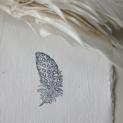 AfroDutchPaperStone - Kaart Feather 2