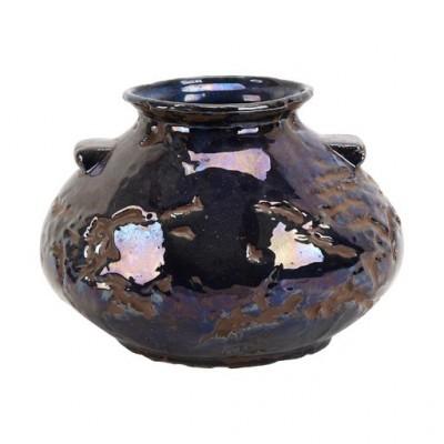 PTMD - Moya dark blue ceramic pot s
