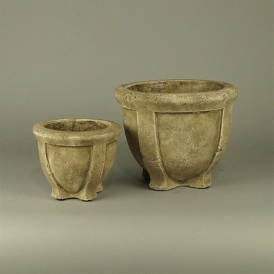 BRYNXZ - Set of 2 planter on foot