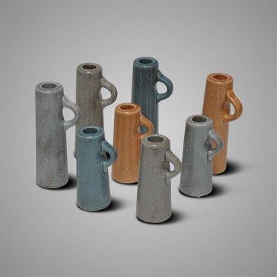 BRYNXZ - Candleholder cylinder brown