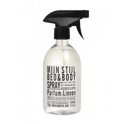 Mijn Stijl - Bed & Bodyspray parfum Linnen wit