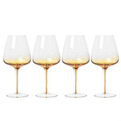 Broste Copenhagen - Amber - Rode wijnglas