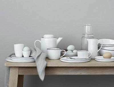Broste Copenhagen - Salt - Ontbijtbord met stippen
