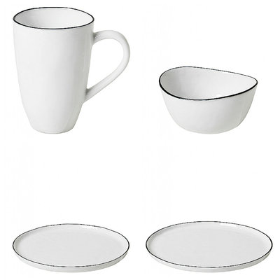 Broste Copenhagen - Salt - Basispakket servies Small