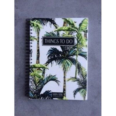 Mijn Stijl - Boekje Things to do licht botanical