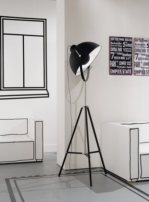 It's About RoMi - Vloerlamp Hollywood Zwart
