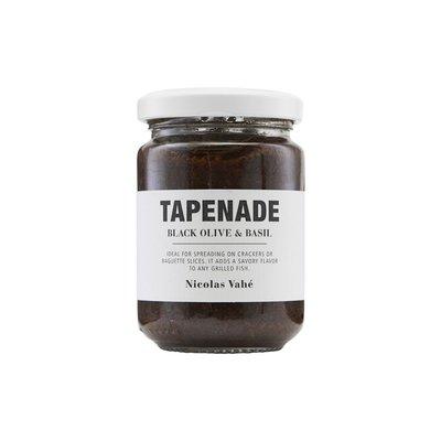 Nicolas Vahé - Tapenade Zwarte olijf & basilicum