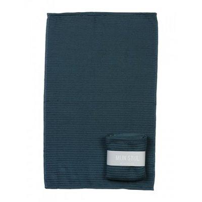 Mijn Stijl - Handdoek Blauw/petrol