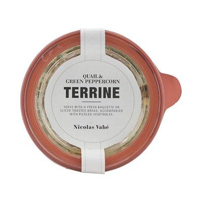 Nicolas Vahé - Terrine Kwartel & groene peper