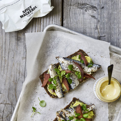 Nicolas Vahé - Gekruide makreel in olijfolie