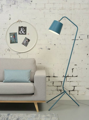 It's About RoMi - Vloerlamp Barcelona Blauw