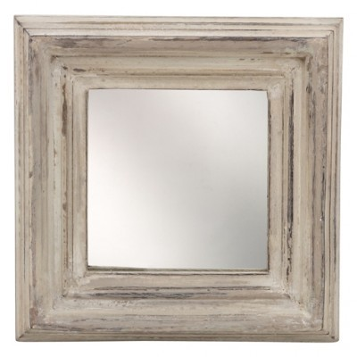 PTMD - Spiegel Madera wit