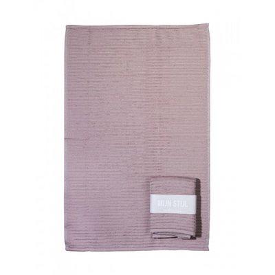 Mijn Stijl - Handdoek Oud roze