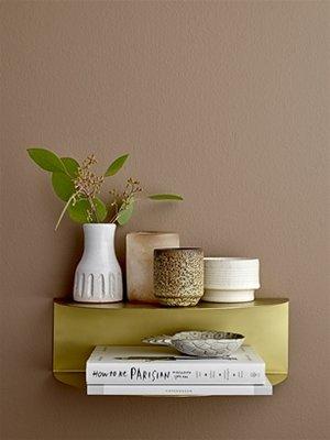 Bloomingville - Terracotta schaaltje Ananas Wit