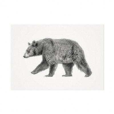 Mélisse - Kaart De Europese bruine beer