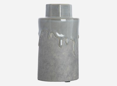 House Doctor - Vase Hexa cool grey