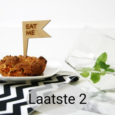 Lotjedotje - Cake topper set