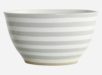 House Doctor - Bowl Stripe stone