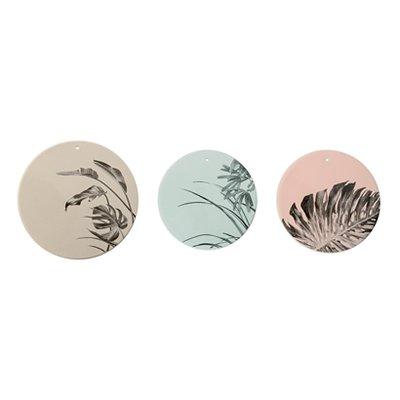 Bloomingville - Deco bord Sooji grijs