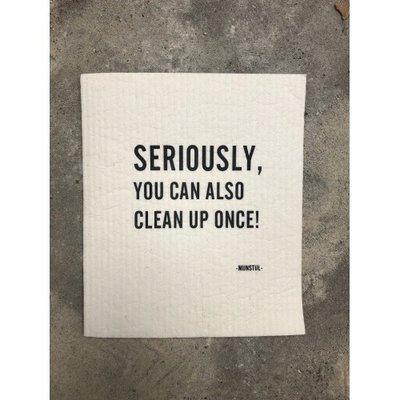 Mijn Stijl - Vaatdoek biodegradable seriously