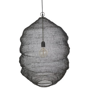 distelroos-Yoshiko-1033-0040-01-Lampenkap-Kashmir-zwart