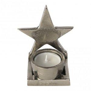 distelroos-PTMD-665747-Xmas-aluminium-rough-tealight-star-theelicht-waxinelicht