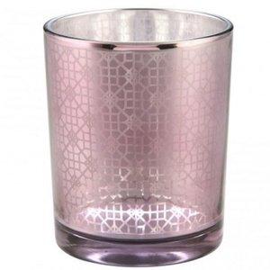 distelroos-PTMD-665325-Volta-purple-round-glass-pot-l