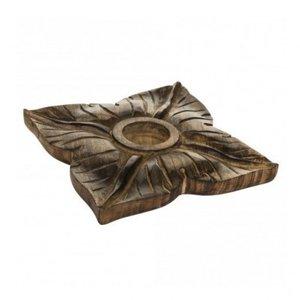 distelroos-PTMD-659916-Wood-brown-tealight-square-flower-L