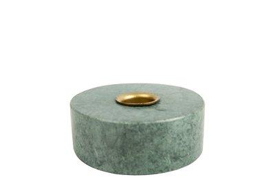 distelroos-MrsBLOOM-83564-Kandelaar-Collin-Rond-Groen-marmer
