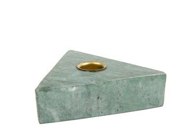 distelroos-MrsBLOOM-83566-Kandelaar-Collin-Driehoek-Groen-marmer