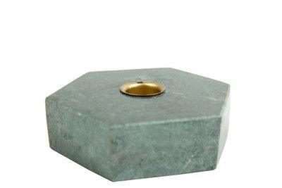 distelroos-MrsBLOOM-83568-Kandelaar-Collin-Hexagon-Groen-marmer