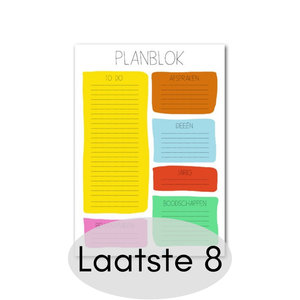 Studio Stationery - Planblok